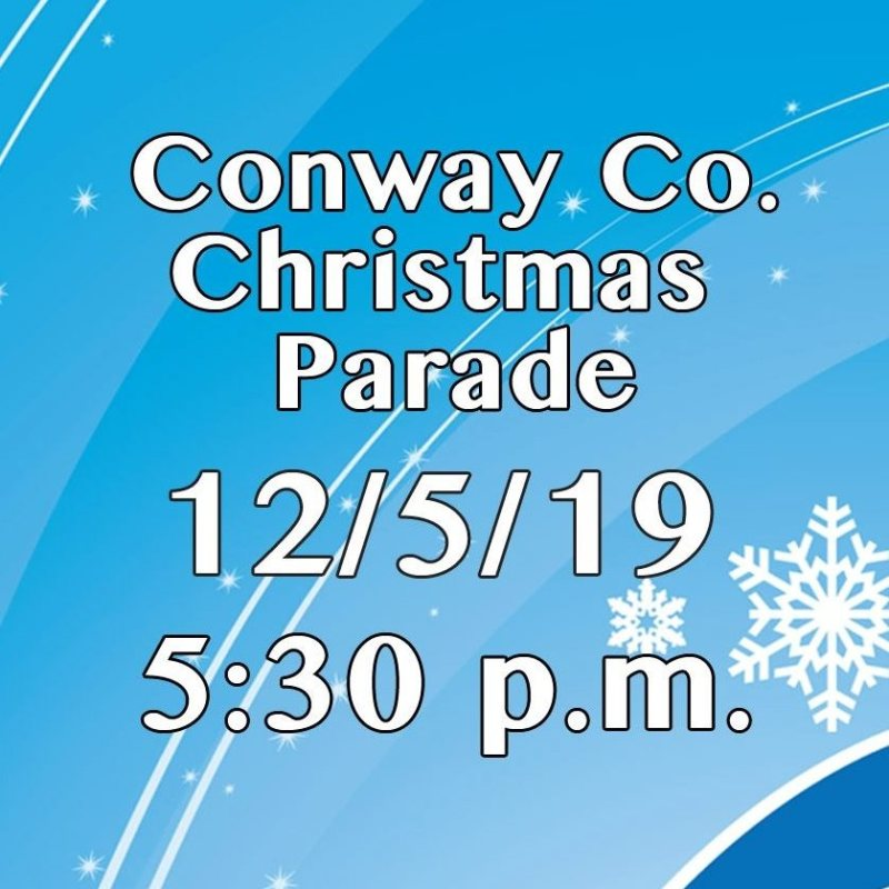 Conway County Christmas Parade this week