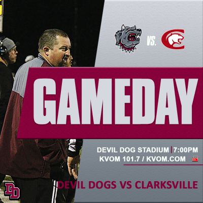 Devil Dogs host Clarksville for Sr. Night