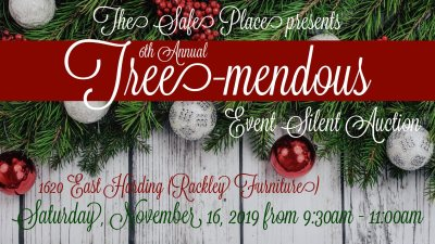 The Safe Place to host Tree-mendous fundraiser
