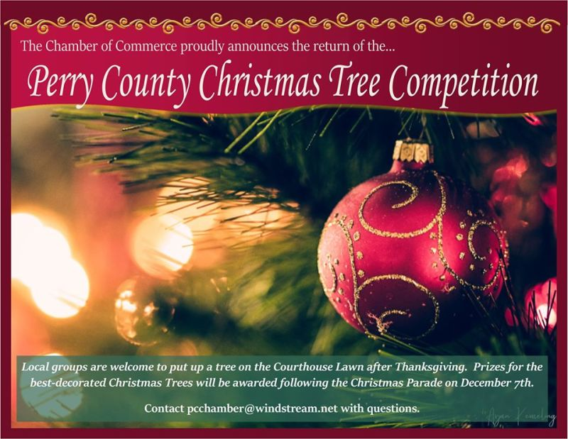 Perry Co. brings back Christmas Tree Competition