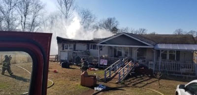 Fires burn homes in Morrilton and Austin
