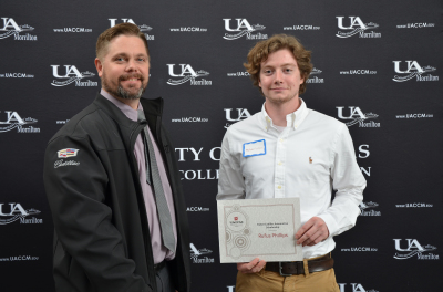UACCM adds scholarship for Auto Service Tech student