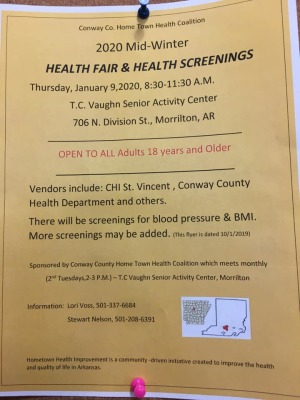 Hometown Health Coalition to host Senior Health Fair