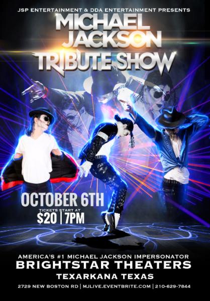 Michael Jackson Tribute Light Show
