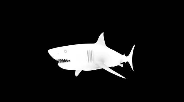 Shark · Ambient Occlusion