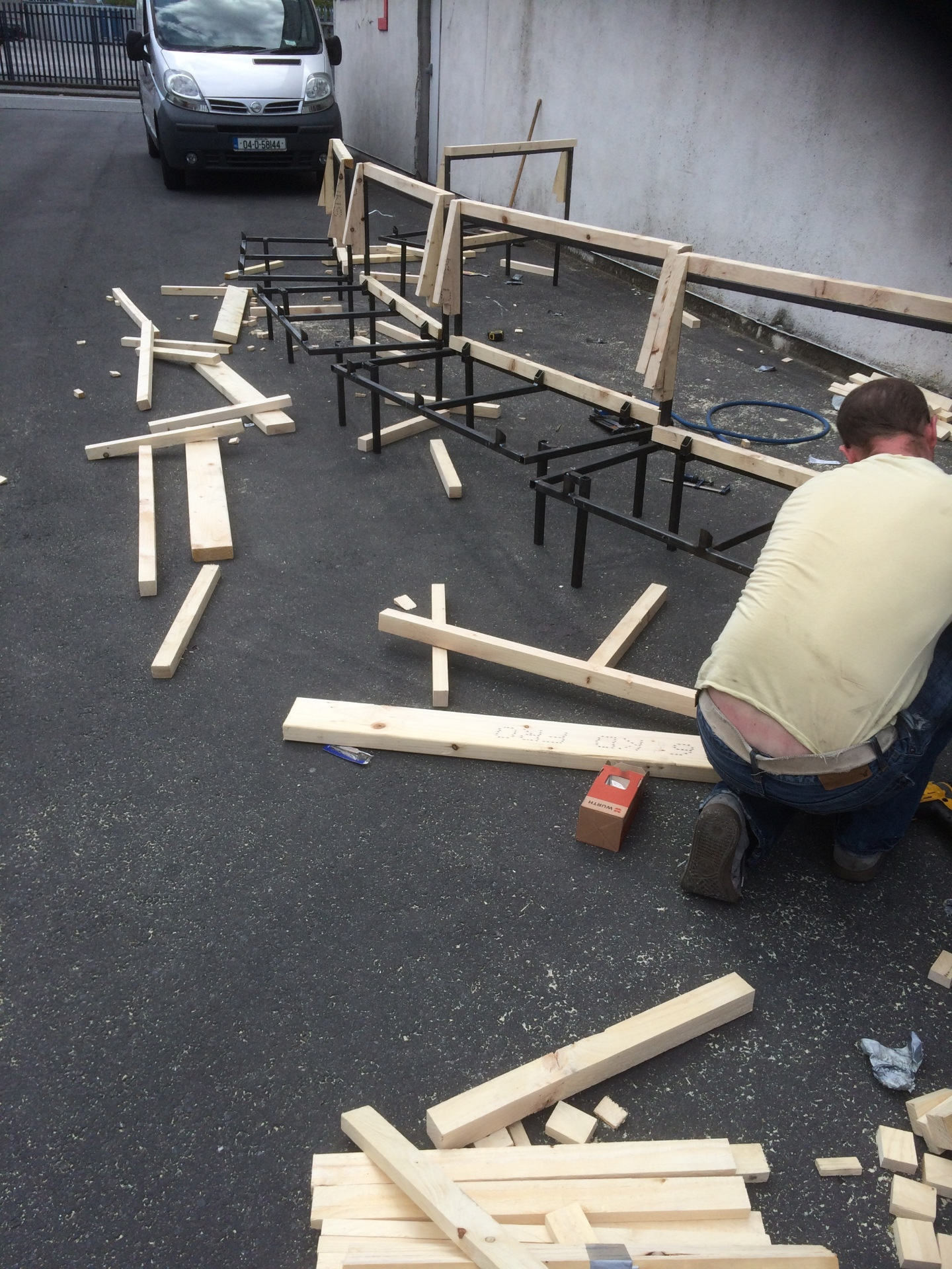 Chair manufacturing