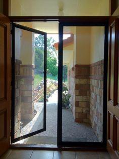 Hinge security doors
