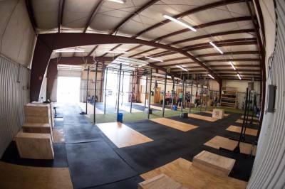 Indoor picture of beercity crossfit gym