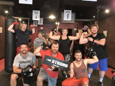 9 round group fitness class
