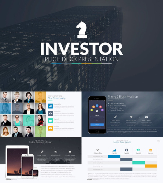 A Investment Pitch Deck