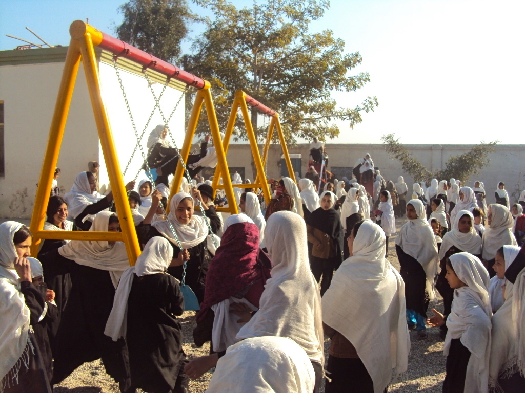 Huge Demand for Safe Playgrounds in Afghanistan