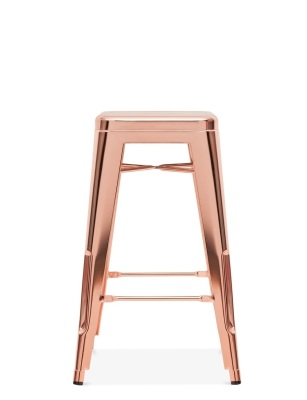 Tolix Stool Rose Gold
