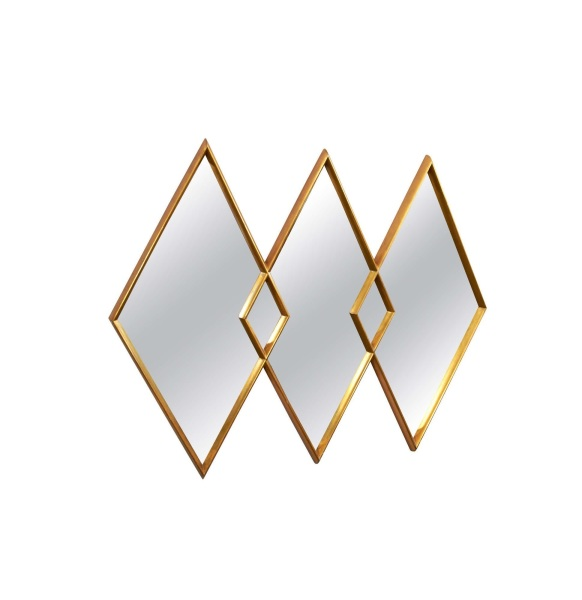 Diamond Trio Mirror