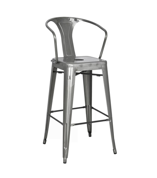 Tolix Stool With Arm