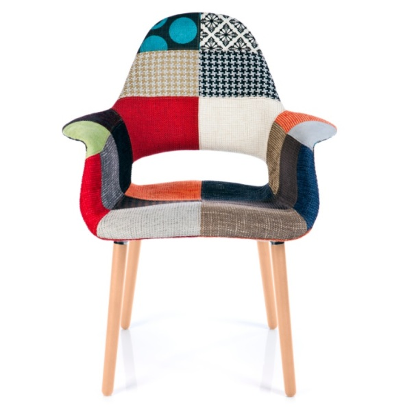 Organic Patchwork Chair