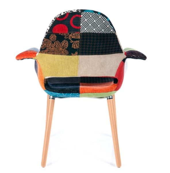 Organic Patchwork Chair