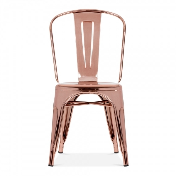 Roch Rose Gold Chair
