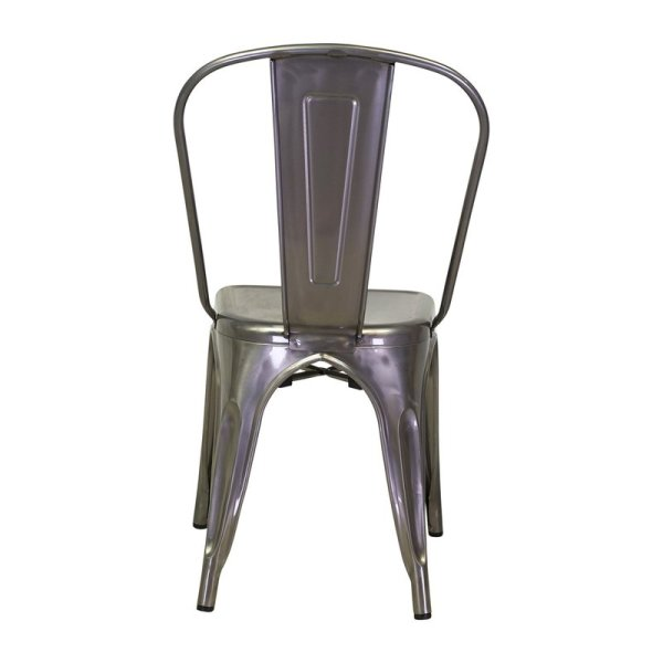 Roch armless Chair Distressed