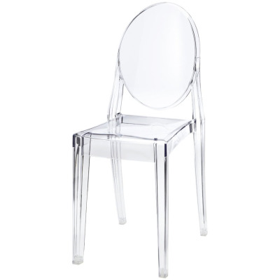 Transparent Armless Chair