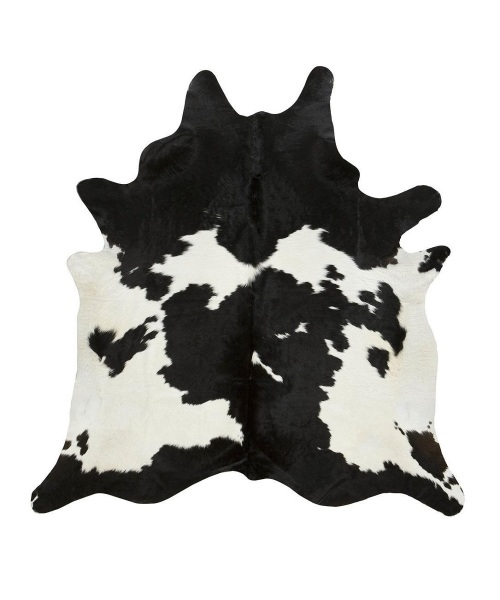 Cowhide Black & White
