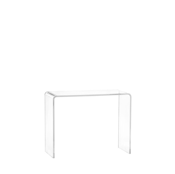 Acrylic Condo Console Table