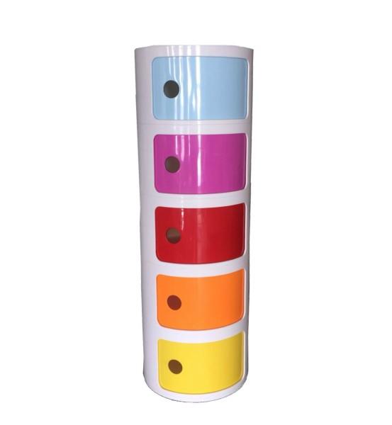 5 Round Cabinet