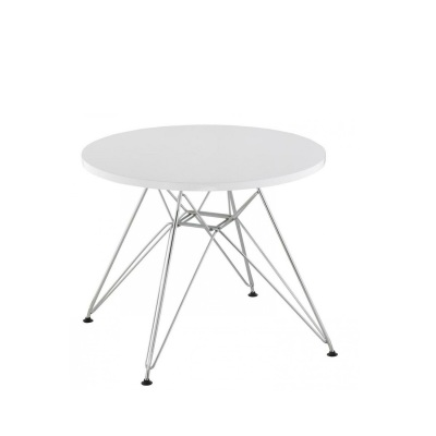 Eiffel Kids Table Chrome