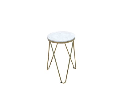 Pin Cross End Table