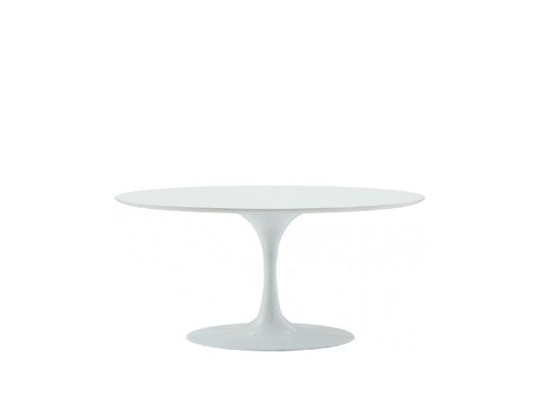 Oval Fiberglass Coffee Table
