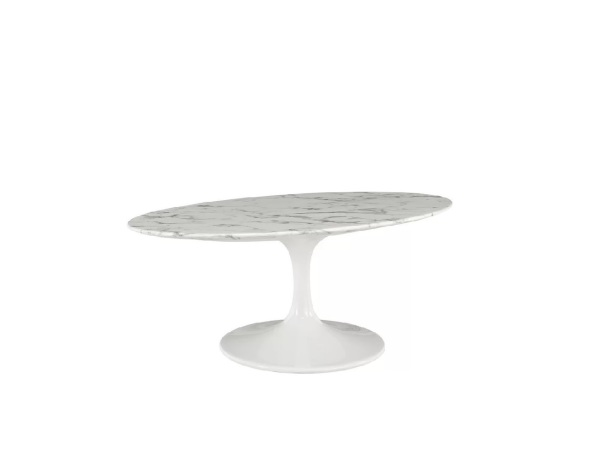 Oval Marble Coffee Table
