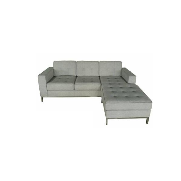 Jane Sectional Sofa (Metal Legs)
