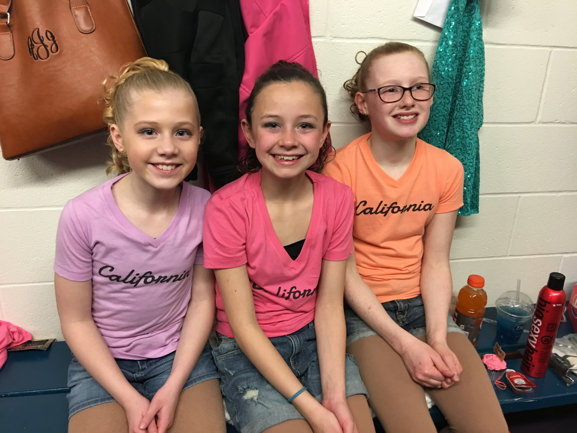 Locker Room Fun - Ice Show 2017