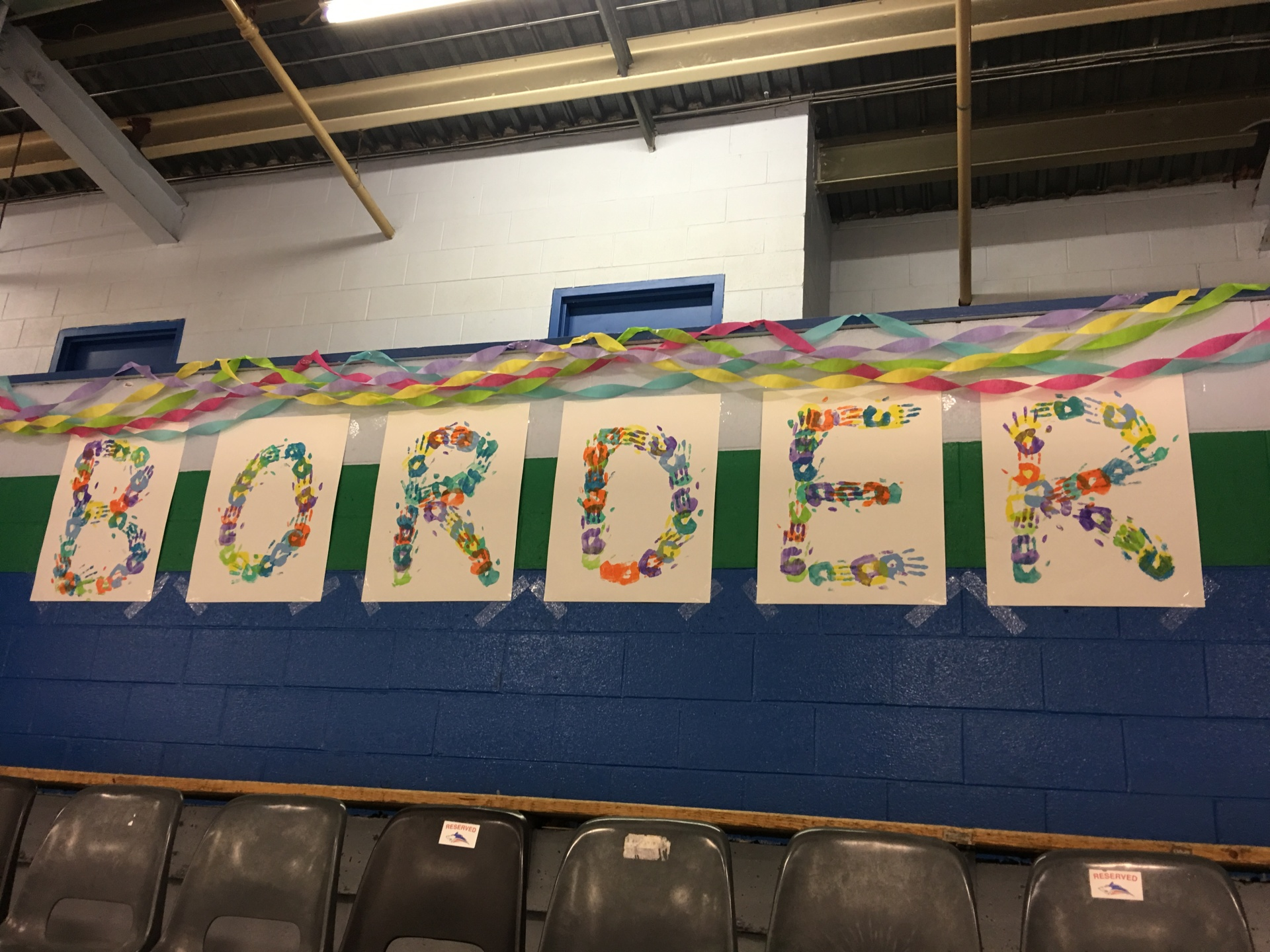 """Decorations for Regionals 2018 - """"Leave Your Mark"""""""