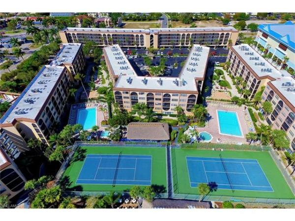 Anglers Cove Condo Aerial View