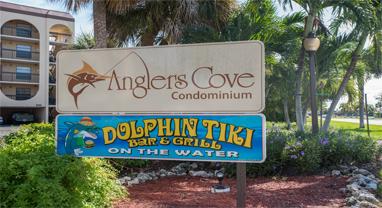 Anglers Cove Condo & Dolphin Tiki Bar & Grill