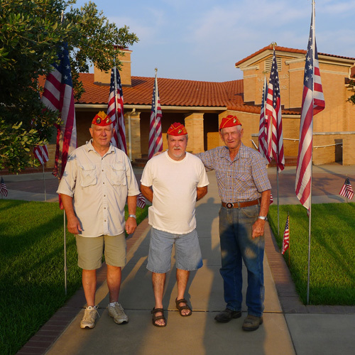 Lt-Rt; Dan Sigletary, Don Kirkley, Buck Lee