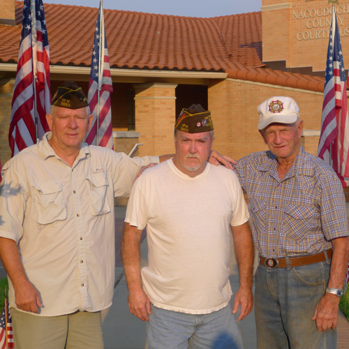 Lt-Rt; Dan Singletary, Don Kirkley. Buck Lee