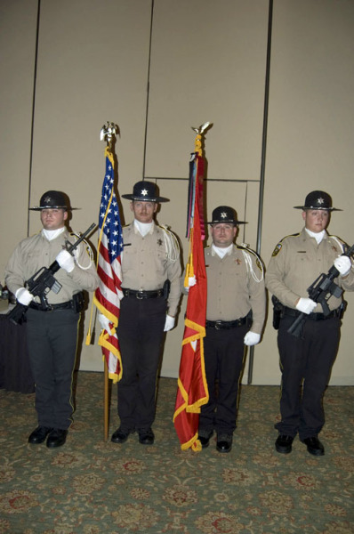 NACOGDOCHES SHERRIF DEPT. COLOR GUARD