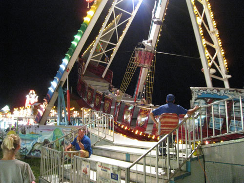 ONE OF THE FAIR RIDES