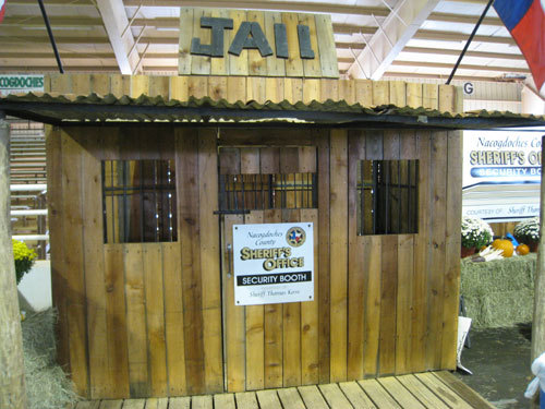 SHERIFF DEPT. BOOTH