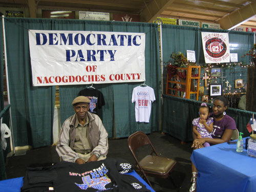 DEMOCRATIC PARTY BOOTH