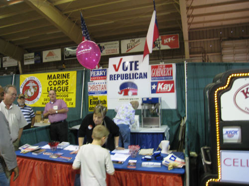 REPUBLICAN PARTY BOOTH