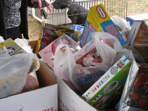 DONATION OF TOYS