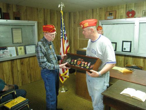 Lt-Rt; Billy Duke, Will Lane.