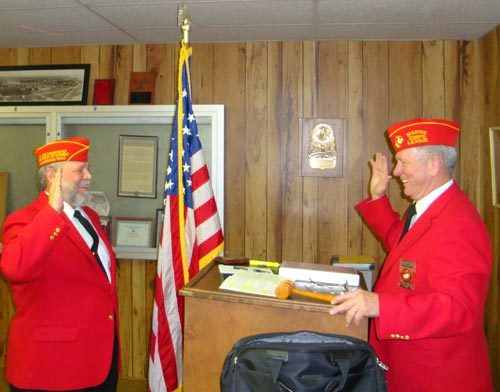 Lt-Rt; Dennis Bradford, Dan Sigletary.
