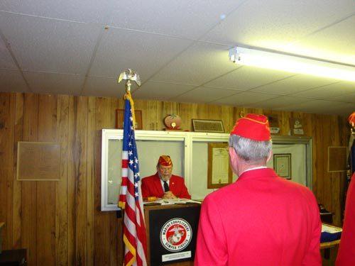 Lt-Rt; Dennis Bradford, Jimmy Lee.