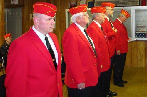 Lt-Rt: Will Lane, Phil Devlin, Dan Singletary, Richard Barnhart, Jimmy Lee.
