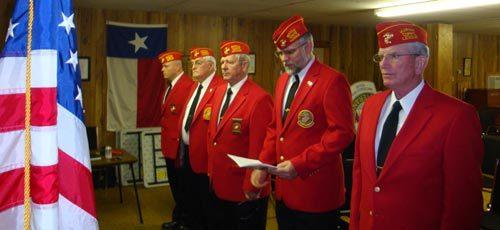 Lt-Rt; Will Lane, Phil Devlin, Dan Singletary, Richard Barhart, Jimmy Lee.
