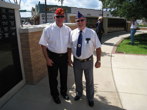 Lt-Rt; Dan Singletary, Don Kirkley.