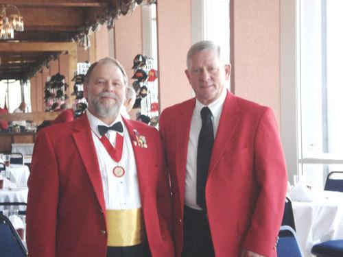 Lt-Rt; Dennis Bradford, Dan Singletary.